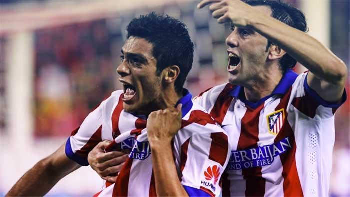 Raúl logró su anhelado primer tanto con los Colchoneros.