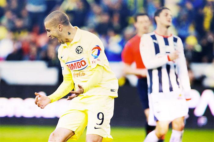 El Pipa se estrenó como goleador azulcrema.