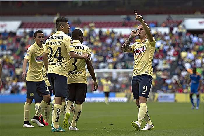 El Pipa se estrenó en el torneo como goleador.