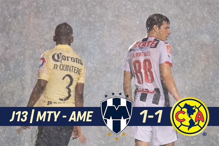En Monterrey se jugaron dos partidos. Uno en cada tiempo.