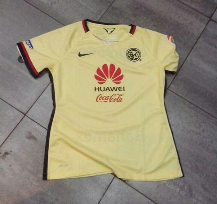 El nuevo uniforme del club am rica nidoazulcrema for Cuarto uniforme del club america