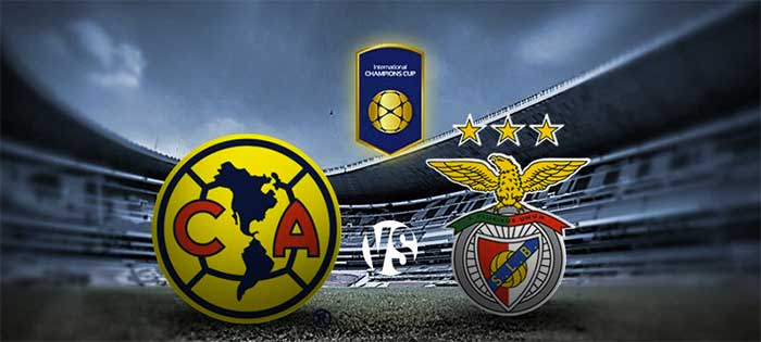 América cerrará ante Benfica este Martes a las 9pm (MEX)
