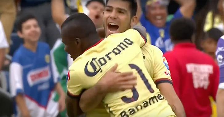 Romero hizo su primer tanto como Águila