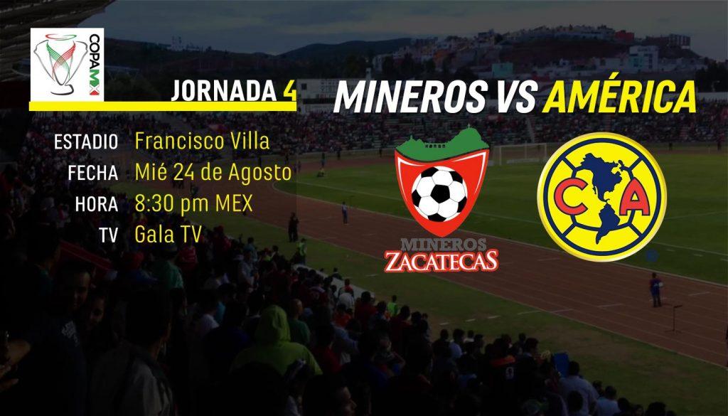 América visita Zacatecas por primera vez